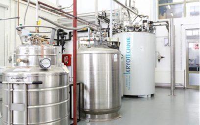HRLS 11 stocator de proces pentru heliu lichid